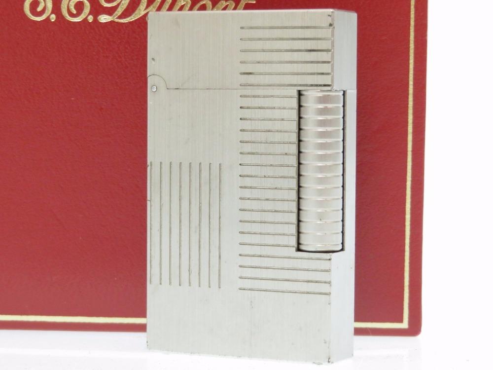 大特価 STデュポン ライン2 ライター シルバー 着火OK シルバー ライター 0118 STデュポン【中古】Dupont, ひとみコンタクト:d6141a04 --- estudiosmachina.com
