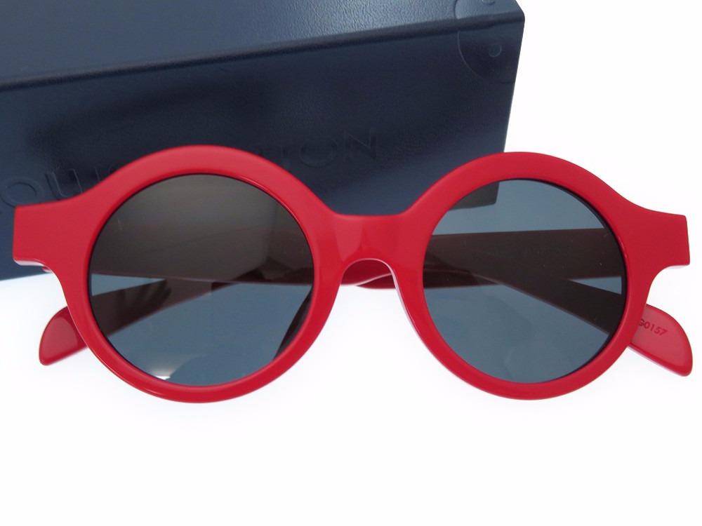 3b8cb361652 Unused Louis Vuitton X シュプリーム Z0989E sunglasses plastic red-eyeware LV 0109  LOUIS VUITTON Supreme