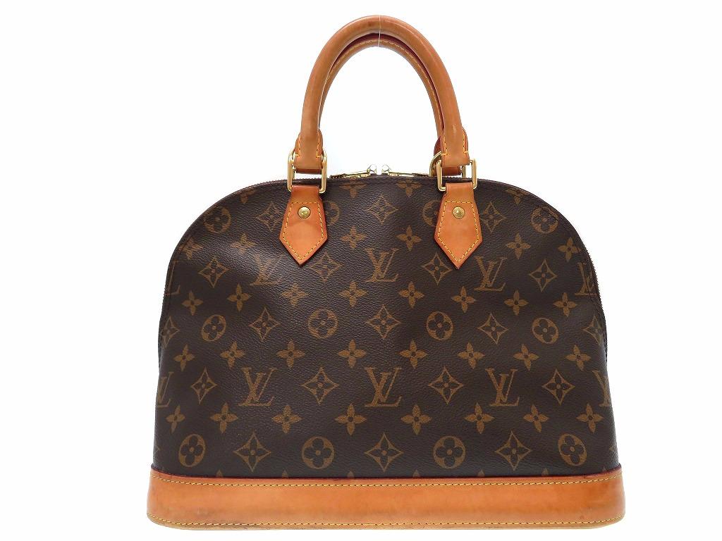 ルイヴィトン モノグラム アルマ PM 新型 ハンド バッグ M53151 鞄 0289【中古】LouisVuitton
