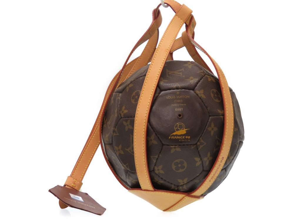 美品 ルイヴィトン 1998年 フランスワールドカップ 3000個限定 サッカーボール M99054 モノグラム 0444【中古】LOUIS VUITTON