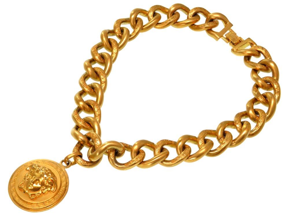 Life time rakuten ichiba rakuten global market beautiful article beautiful article versace gold medusa chain necklace 0241versace mozeypictures Image collections