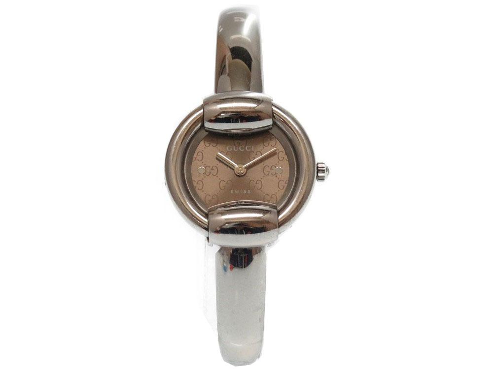 グッチ GG 1400L ステンレススチール シルバー 腕時計 レディース 時計 0323 【中古】 GUCCI