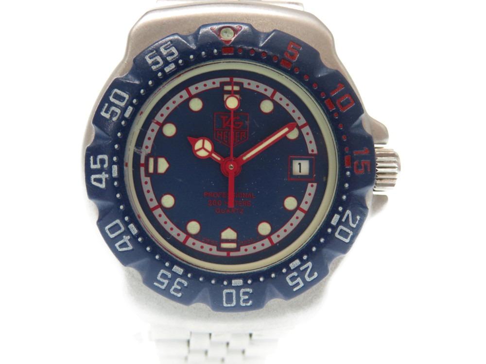タグホイヤー フォーミュラ1 プロフェッショナル 370.508 クオーツ レディース 腕時計 0441【中古】TAG HEUER