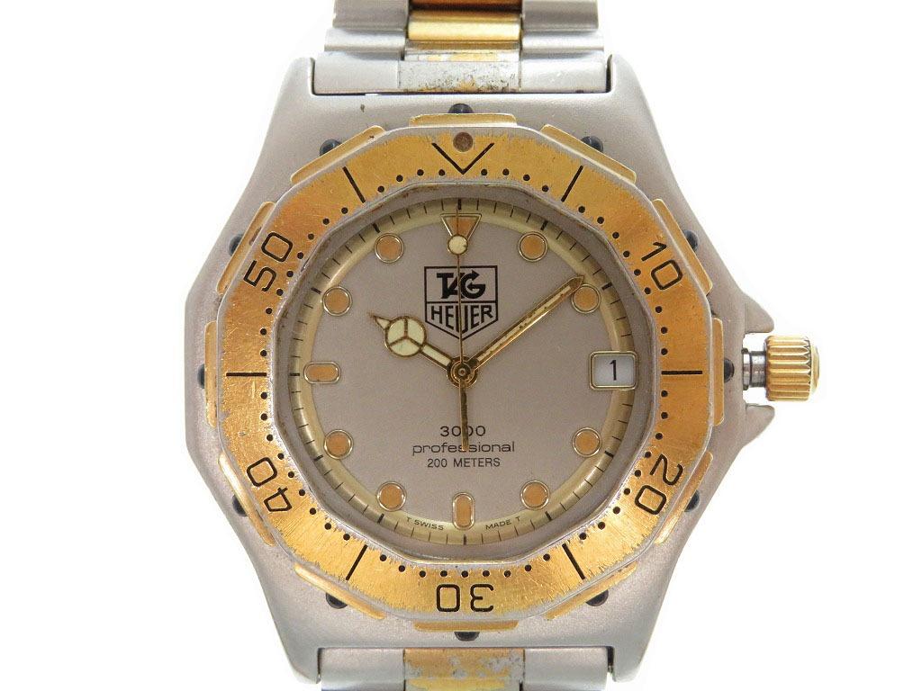 タグホイヤー プロフェッショナル3000 934 206 クォーツ 腕時計 0044【中古】TAG HEUER
