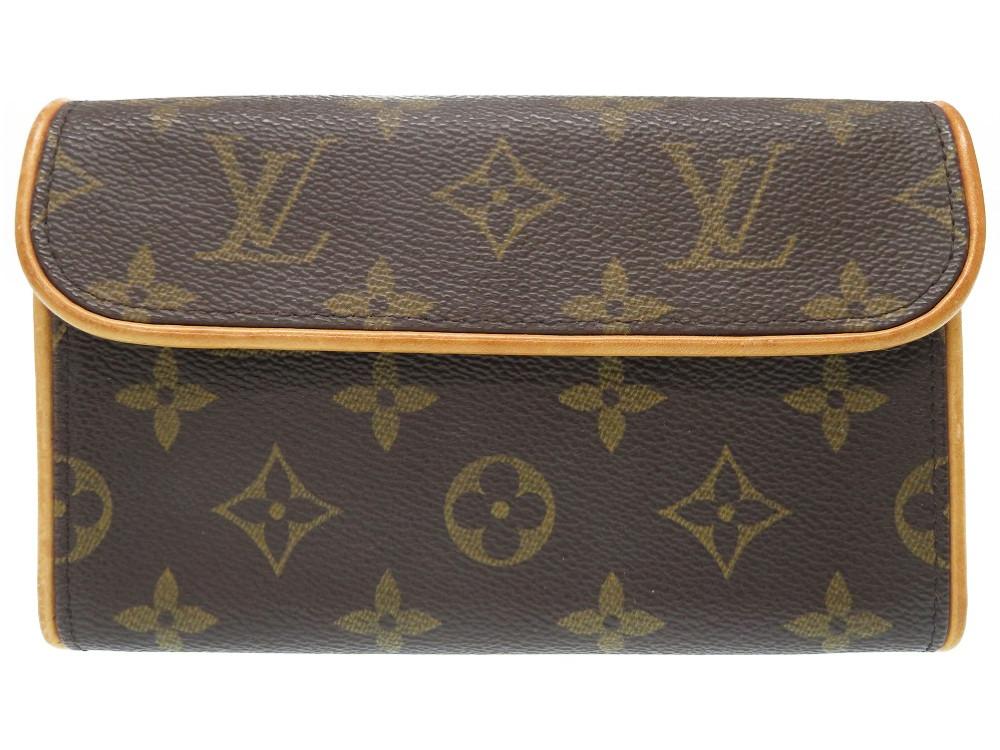 ルイヴィトン モノグラム ポシェット フロランティーヌ M51855 ウエストバッグ バッグ LV 0311 【中古】 LOUIS VUITTON