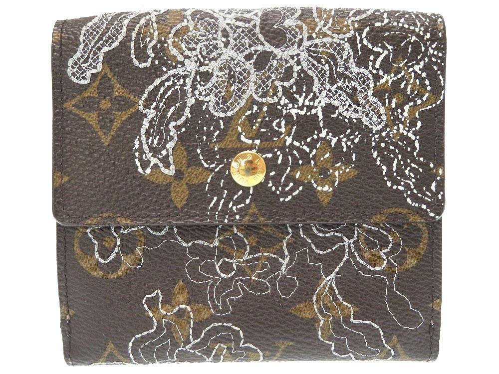 美品 ルイヴィトン モノグラム ダンテェル ポルトモネ ビエ カルトクレディ M95396 二つ折り財布 財布 LV 0144 【中古】 LOUIS VUITTON