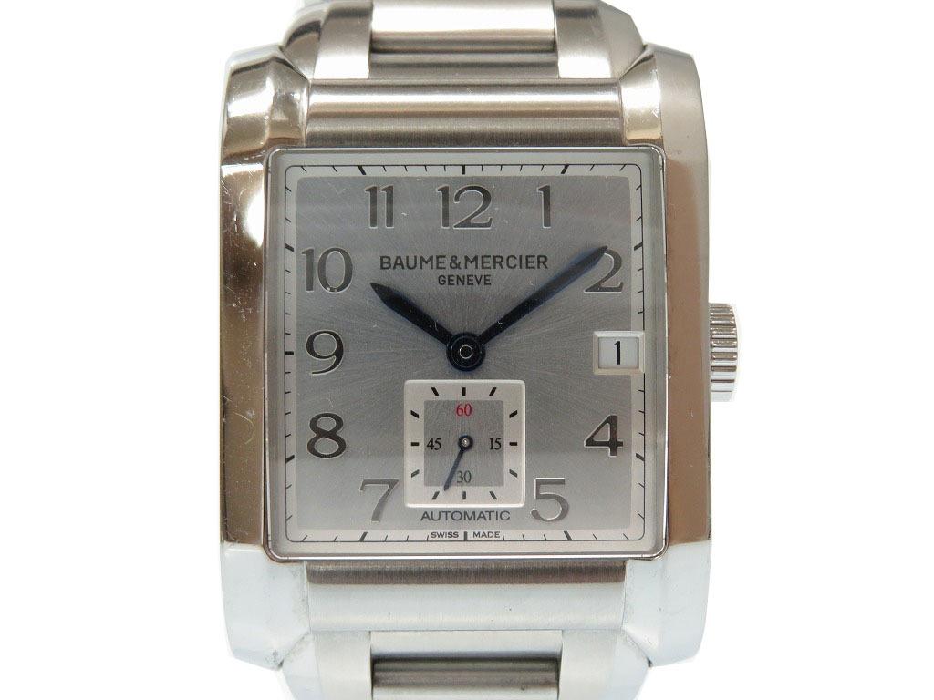 美品 ボーム&メルシエ ハンプトン M0A10047 自動巻き メンズ 腕時計 0478【中古】 BAUME & MERCIER