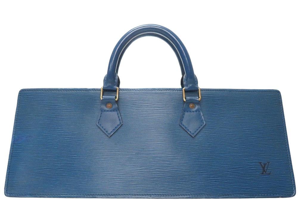 ルイ ヴィトン エピ サック トリアングル ブルー M52095 ハンドバッグ バッグ LV 0085 【中古】 LOUIS VUITTON