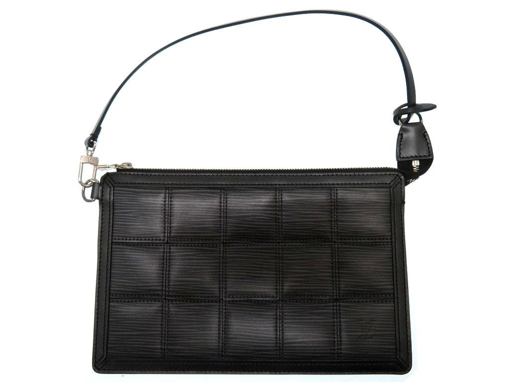 美品 ルイヴィトン エピ デルモニコポーチ M54602 バッグ 鞄 ブラック 0052【中古】LOUIS VUITTON レディース