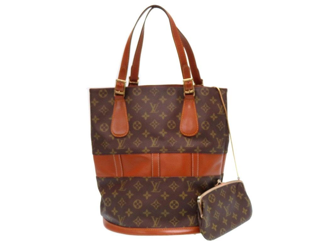 Brown 0007louis Vuitton Lady S With The Louis Usa Limited Pail Gm T42236 Handbag Porch