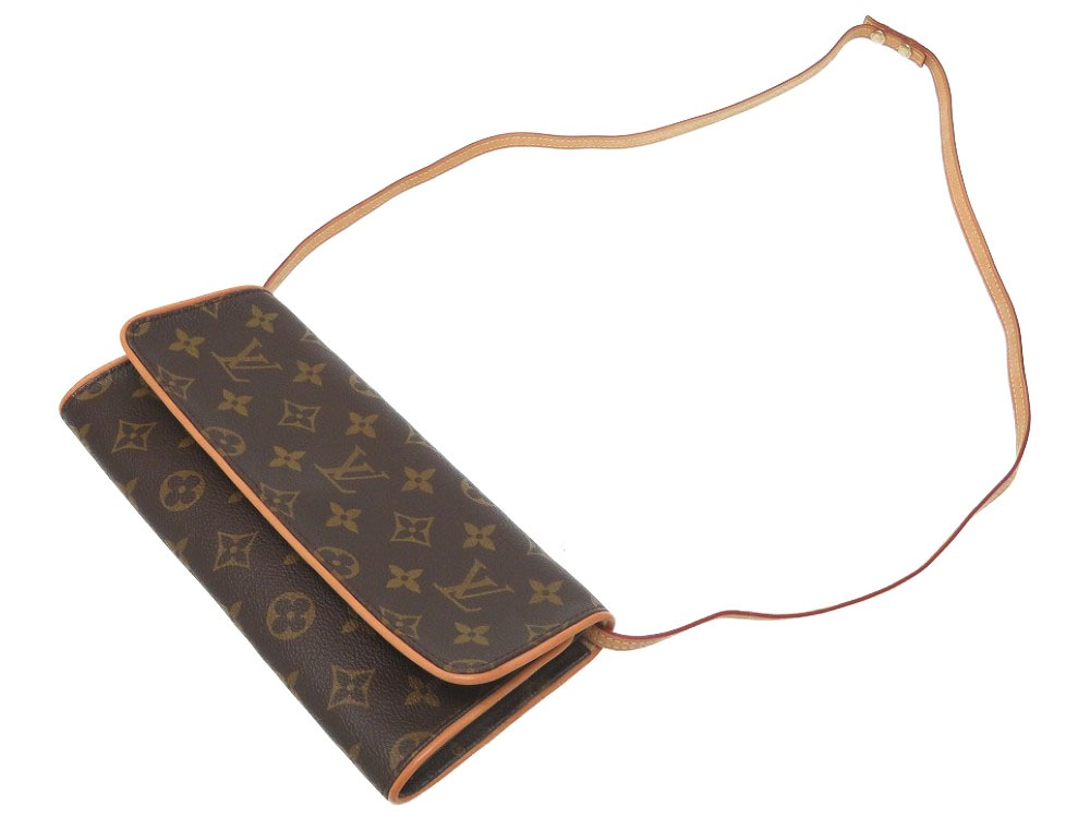 c4839ec96e2d Beautiful article Louis Vuitton monogram pochette twin GM M51852 shoulder  bag bag LV 0334 LOUIS VUITTON