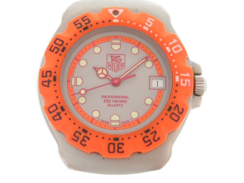 美品 タグホイヤー フォーミラー1 クオーツ 腕時計 オレンジ 0024【中古】TAG HEUER