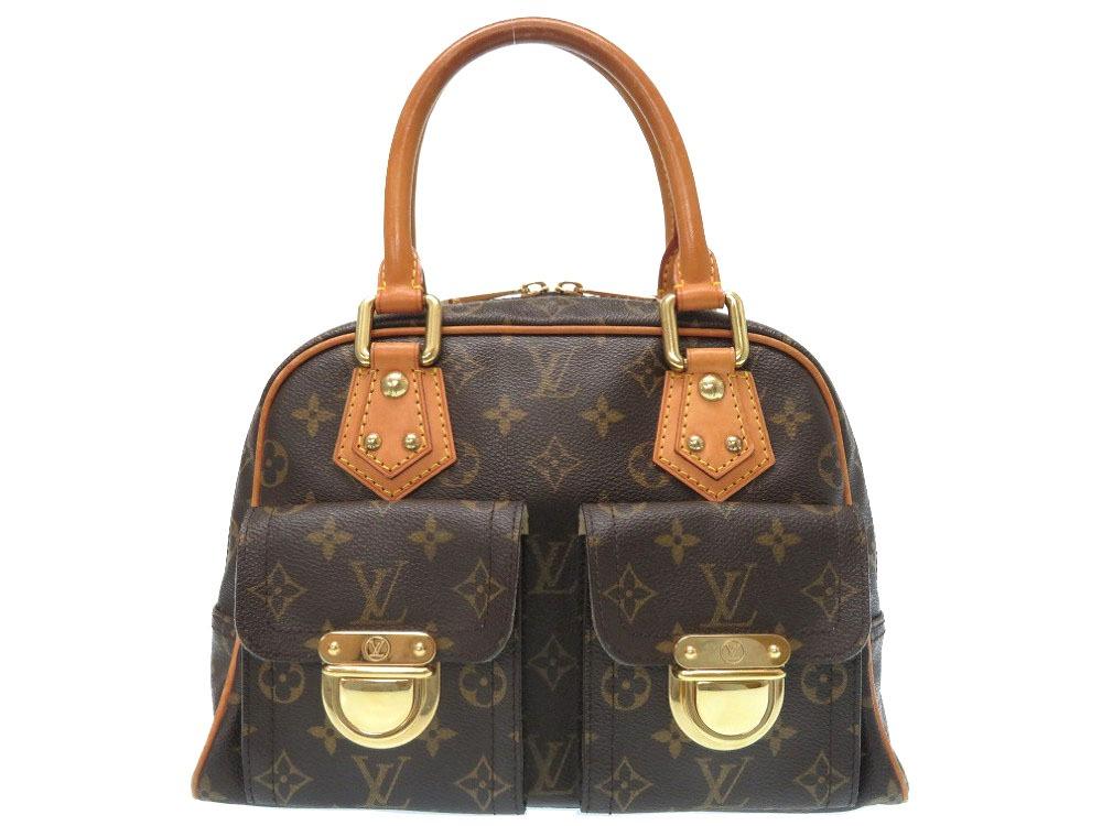 8df57a615 Louis Vuitton monogram Manhattan PM M40026 handbag bag LV 0328 LOUIS VUITTON  ...
