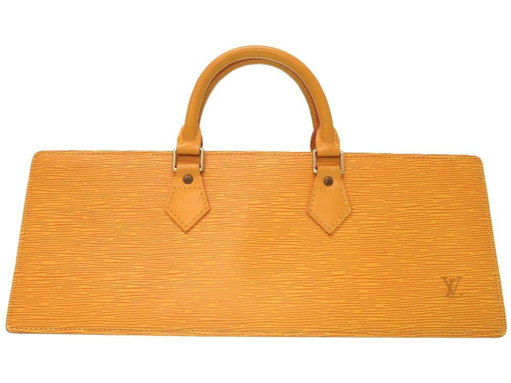 美品 ルイ ヴィトン エピ サック トリアングル タッシリイエロー M52099 ハンドバッグ バッグ 黄 LV 0024 【中古】 LOUIS VUITTON