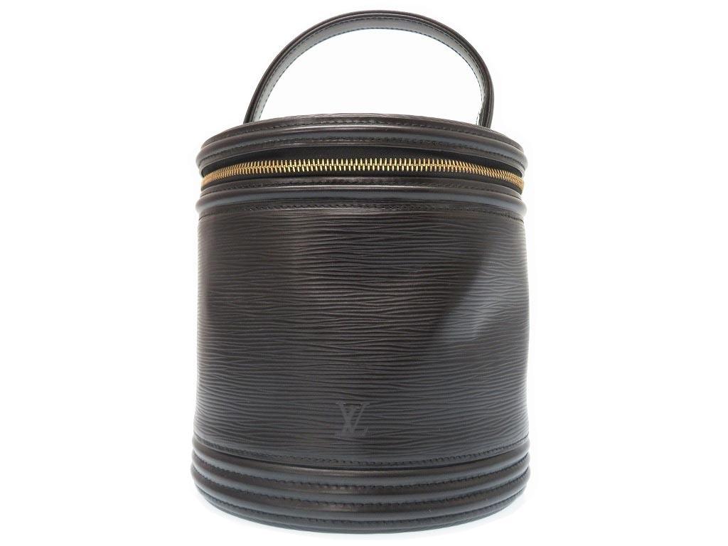 ルイヴィトン エピ カンヌ M48032 ハンド バッグ ブラック 鞄 黒 0053【中古】LOUIS VUITTON レディース