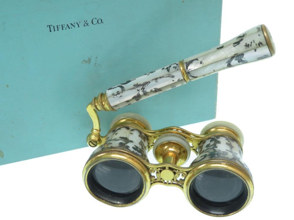 希少 ティファニー 装飾 オペラグラス アンティーク 双眼鏡 ヴィンテージ 0014【中古】TIFFANY&Co.