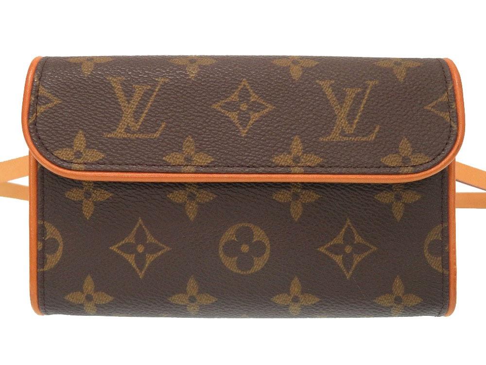 ルイ ヴィトン モノグラム ポシェット フロランティーヌ M51855 ウエストバッグ バッグ LV 0273 【中古】 LOUIS VUITTON