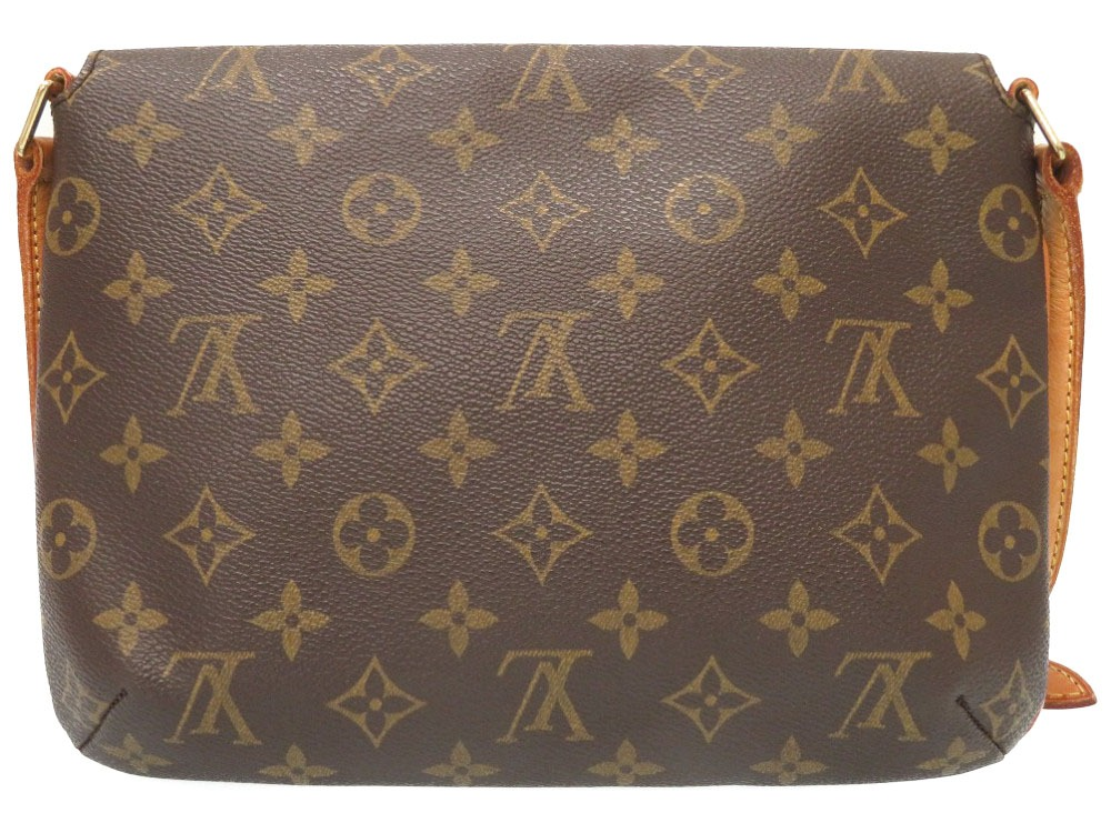 f06e6076b9b7 Louis Vuitton monogram musette tango short strap M51257 shoulder bag bag LV  0238 LOUIS VUITTON
