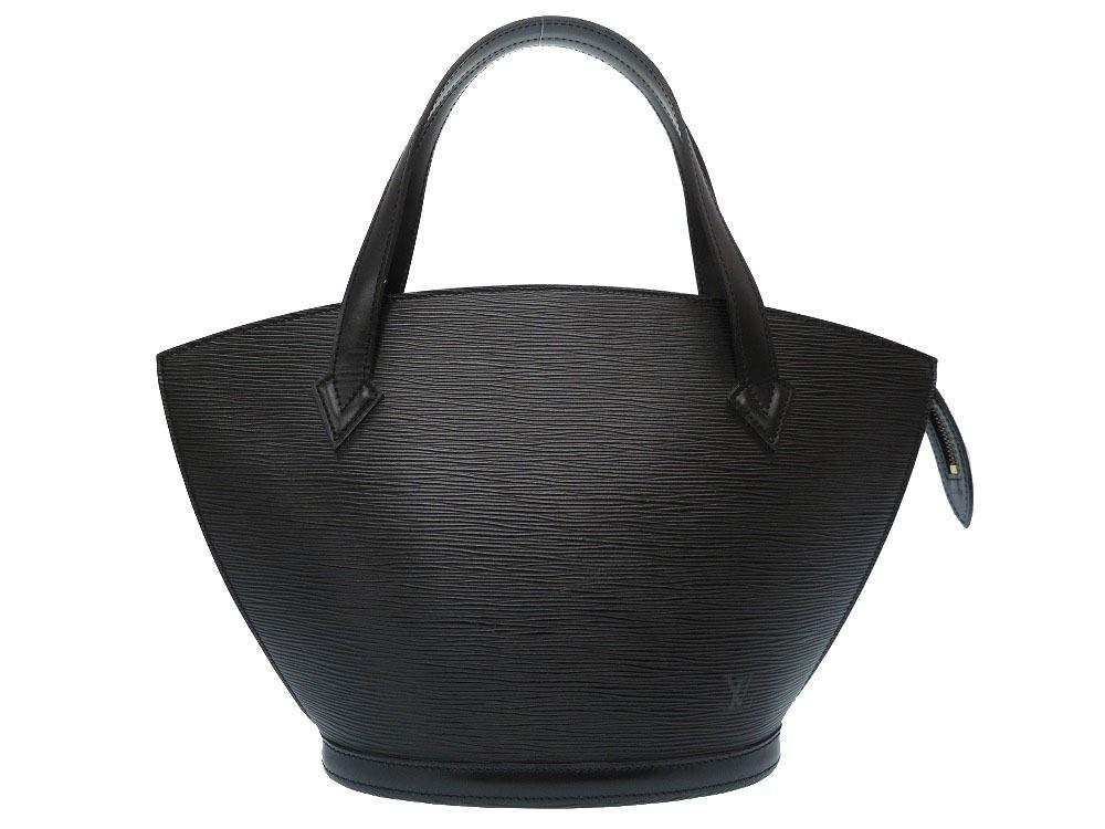 新品同様 ルイ ヴィトン エピ サンジャック ブラック M52272 ハンドバッグ バッグ 黒 LV 0164 【中古】 LOUIS VUITTON