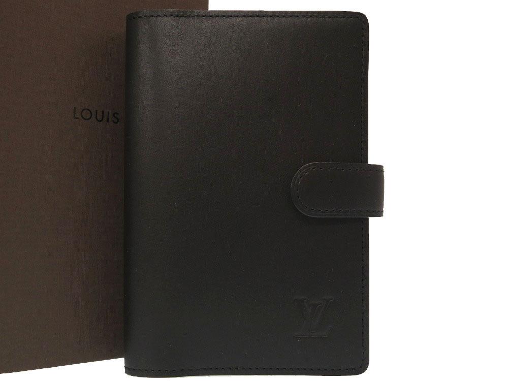 未使用 ルイ ヴィトン ノマド ブラック アジェンダPM R20479 手帳カバー 手帳 黒 LV 0068 【中古】 LOUIS VUITTON
