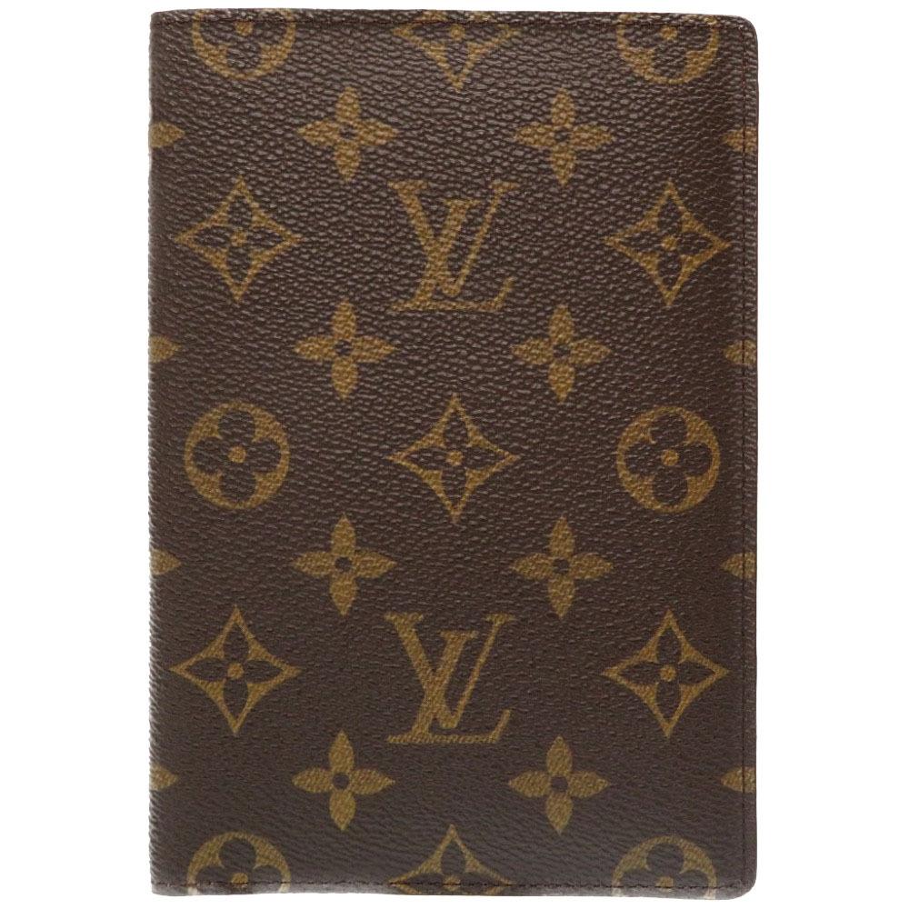 美品 ルイ ヴィトン モノグラム クーヴェルテュール パスポートケース ケース カバー LV 0288 【中古】 LOUIS VUITTON