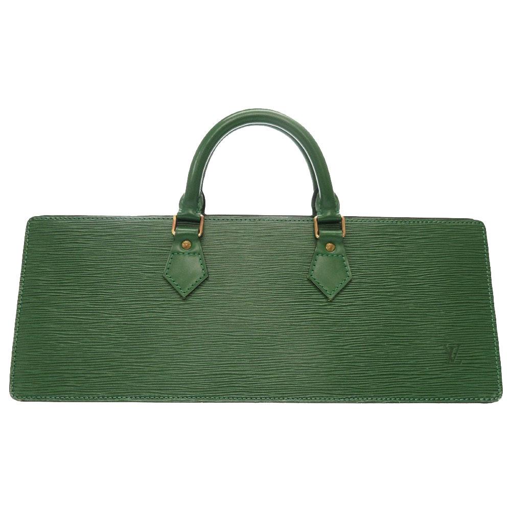 美品 ルイ ヴィトン エピ サック トリアングル グリーン M52094 ハンドバッグ バッグ 緑 LV 0104 【中古】 LOUIS VUITTON