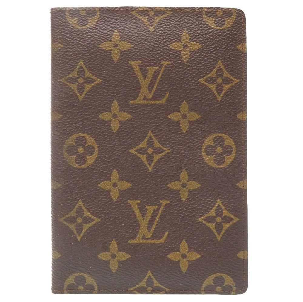 美品 ルイ ヴィトン モノグラム クーヴェルテュール パスポートケース カバー LV 0216 【中古】 LOUIS VUITTON