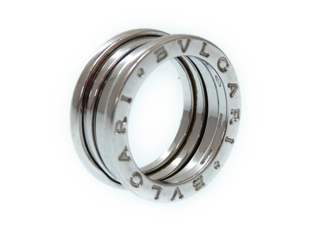 美品 ブルガリ ビ―ゼロワン K18WG 750 リング Sサイズ 指輪 ホワイトゴールド 49 (日本サイズ8.5号) 0101 【中古】BVLGARI