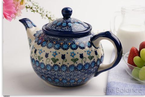 Poland Polish pottery pottery and Dinnerware VENA vena teapots large (V333-U006) & lifebalance | Rakuten Global Market: Poland Polish pottery pottery ...