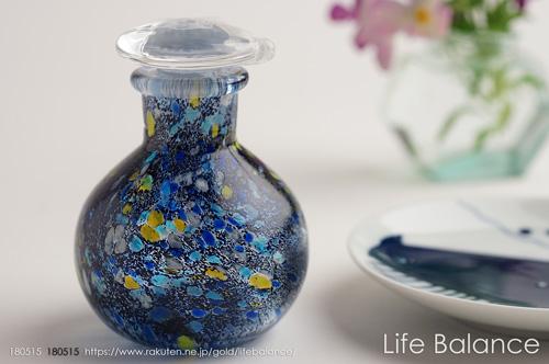 江戸硝子 国産 ガラス  醤油さし トミクラフトうきよシリーズ しょうゆさし いき EG013-03