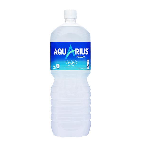 渇いたからだに必要なミネラル オンライン限定商品 アミノ酸 クエン酸を配合 気持ちもリフレッシュできる スッキリとした味わい 新生活 2L アクエリアス 6本入 PET スポーツ飲料