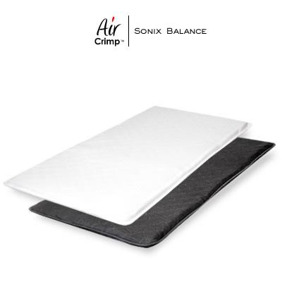 エアクリンプ AirCrimp バランスソニックス 洗える 高反発 マットレス シングル 腰部硬め バランスタイプ リバーシブル仕様 日本製