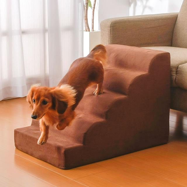 ソファやベッドへの昇り降りが苦手な小型犬や老ペット用の安心スロープ 犬 階段 段差解消 スロープ ペットステップ NEW ARRIVAL ペット ペット用品 直営ストア 犬用ステップ 小型犬用スロープ ステップ ペットスロープ