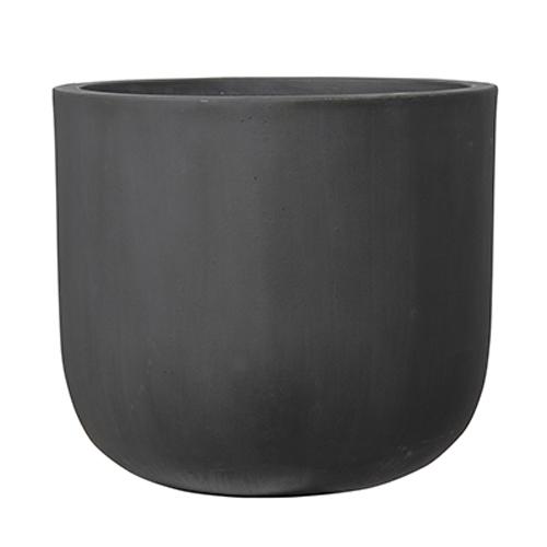 植木鉢 大型 おしゃれ 軽量 ファイバーセメント製 40cm オーク Uポット アンティークグレー 13号