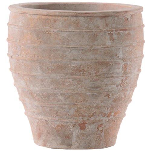 植木鉢 アンティーク調 大型 おしゃれ テラコッタ鉢 外寸48cm(口径40cm) メリッサ アンティコ