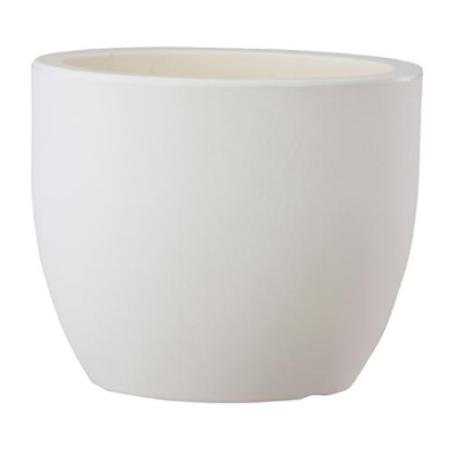 樹脂製植木鉢 トンド ホワイト 52cm