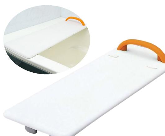 浴槽にしっかり固定。ボードの上に座りながらスムーズ移乗できる 入浴ボード ! 後払い可能! メーカー直送 【代引不可】 介護用 入浴用品 入浴 バスボード 軽量 ■ バスボードS 軽量タイプ ■ [ VAL11001 ] Panasonic / パナソニック