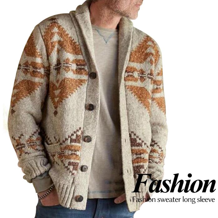 Tシャツに羽織っても 襟付きシャツに羽織っても 安全 どんなコーデにもしっくりと馴染みます カーディガン メンズ ニットカーディガン 春の新作シューズ満載 お兄系 キレイメ アウター メンズカーディガン 秋冬アウター 無地 厚手ニットカーディガン メンズジャケット ショートコート ケーブル編み セーター ニット生地 ゆったり風