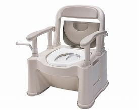 【送料無料】ポータブルトイレ座楽 背もたれ型SP 小口径便座タイプ / VALSPTSPMB 【パナソニック】【smtb-KD】