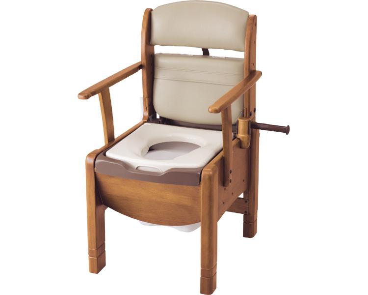 【送料無料】 木製トイレ しまるくん / KPT 肘掛け固定タイプ【カワムラサイクル☆★】【smtb-KD】