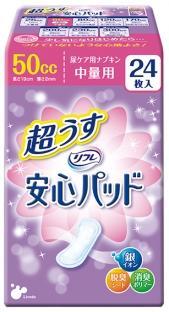 安心パッド ライト 172141ケース(24枚×18袋 )【リブドゥ☆☆】【smtb-KD】