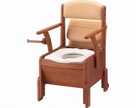 【送料無料】安寿 家具調トイレ コンパクト / 533-680 暖房・快適脱臭【アロン化成】【smtb-KD】