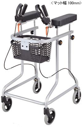 歩行器 アルコー30型 星光医療器製作所 四輪歩行器(介護用品 歩行器 介護 高齢者 歩行器 シルバー)