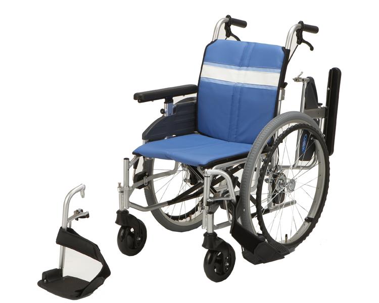 車椅子 軽量 アルミ自走用モジュール車いす NA-3DX【日進医療器☆★】【smtb-KD】