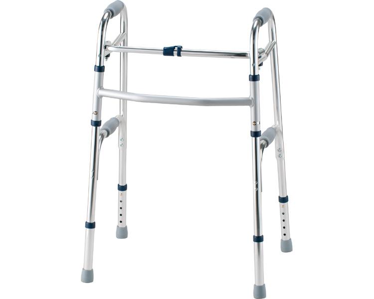 セーフティーアームウォーカー ハイタイプ / SAWHR シルバー イーストアイ 固定型歩行器(介護用品 歩行器 介護 高齢者 歩行器 シルバー)