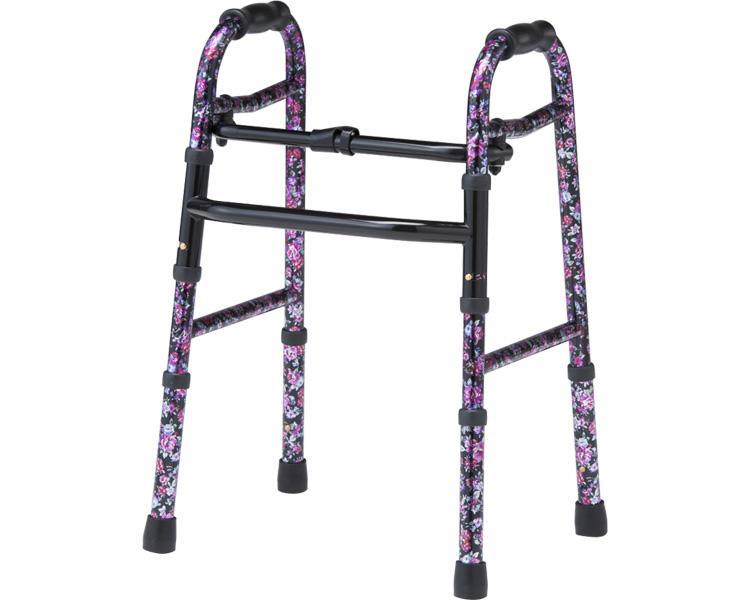 アルコー5型 星光医療器製作所 固定型歩行器(介護用品 歩行器 介護 高齢者 歩行器 シルバー)