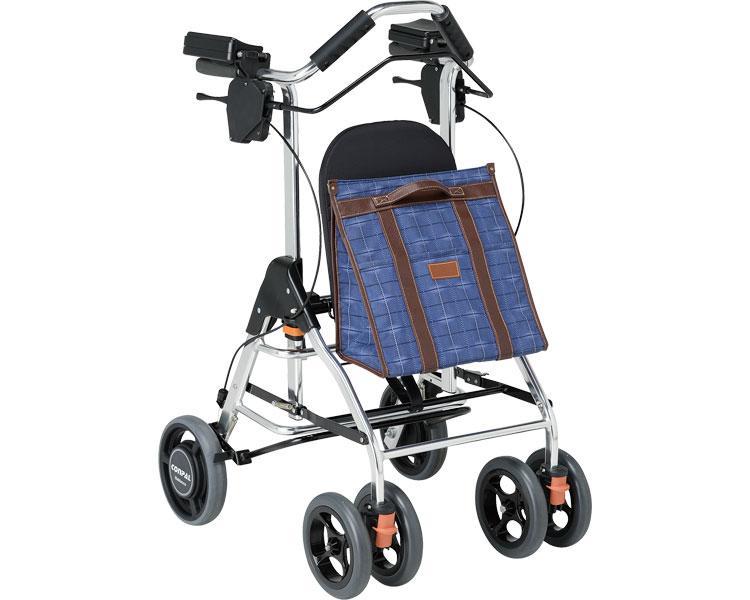 テイコブリトルRF / WAW02 幸和製作所(手押し車 老人 ショッピングカート 4輪 老人 手押し 車 シルバー)(介護用品 歩行器 介護 高齢者 歩行器 シルバー)