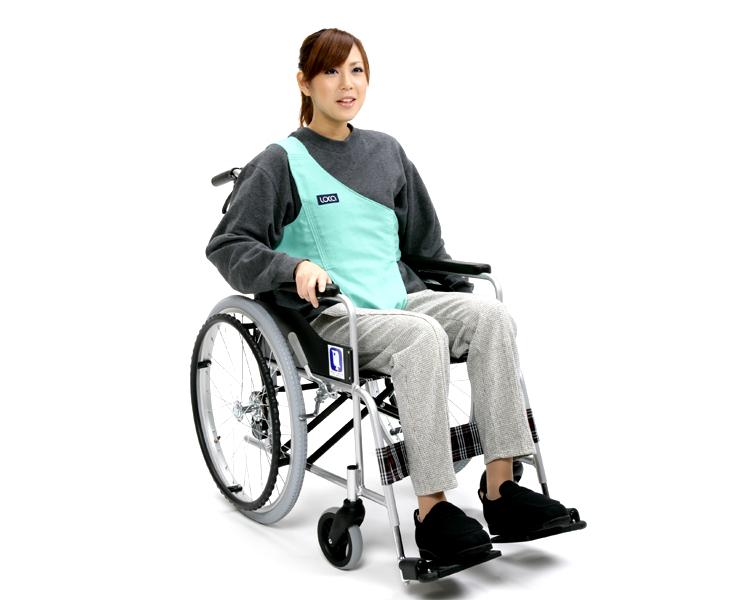 車いす用ワンタッチベルト キーパー シングル / 02036630 葛城織 【路加☆☆】【車椅子用ベルト】