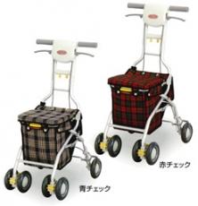 シルバーカー サンフィールショッピング  アロン化成(手押し車 老人 ショッピングカート 4輪 老人 手押し 車 シルバー)(介護用品 歩行器 介護 高齢者 歩行器 シルバー)