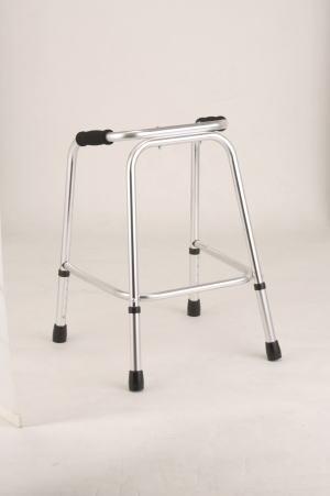 歩行器UラインウォーカーAL-125A クリスタル産業 固定型歩行器(介護用品 歩行器 介護 高齢者 歩行器 シルバー)